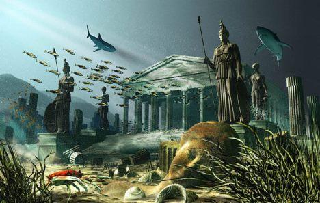 Atlantis yang tenggelam